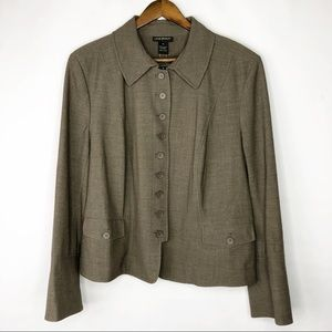 LANE BRYANT Brown Jacket NWT in Size 22